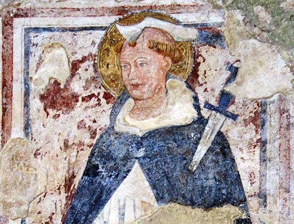 L'affresco di San Pietro Martire e la Legenda Aurea.